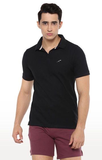 Furo | Black Solid T-Shirt