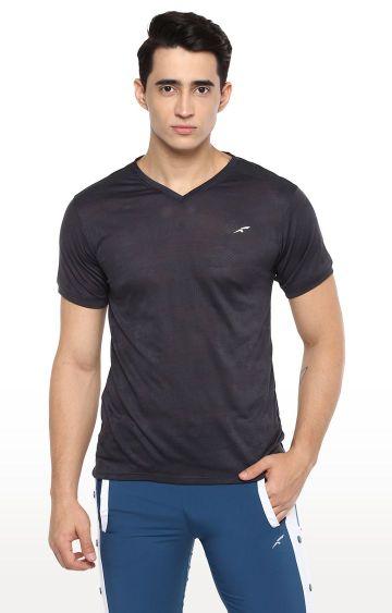 Furo | Grey Printed T-Shirt