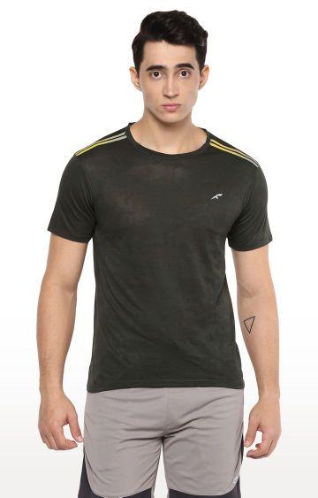 Furo | Green Printed T-Shirt