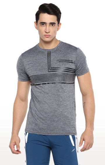 Furo | Grey Melange T-Shirt
