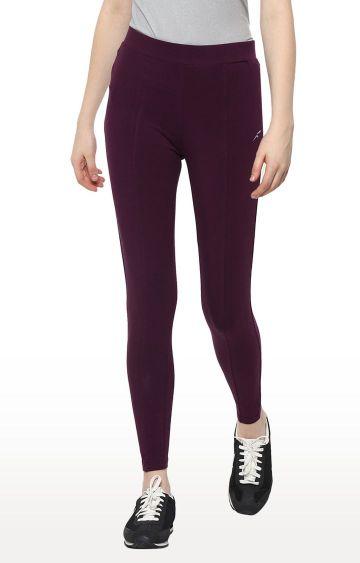 Furo | Purple Solid Tights