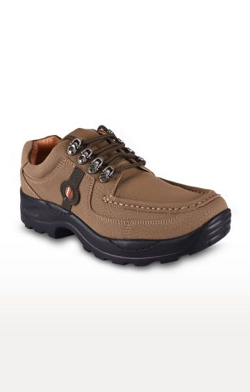 Action   Tan Casual Lace-ups