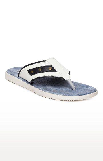 Blue Saint | White Flip Flops