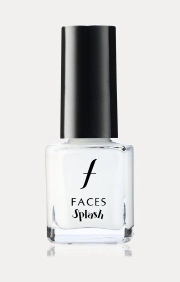 Faces Canada | Splash Nail Enamel - White O White 14