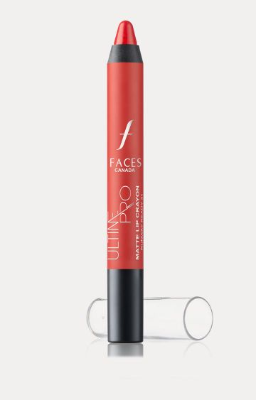 Faces Canada | Ultime Pro Matte Lip Crayon - Runway Ready 31 with Free Sharpener