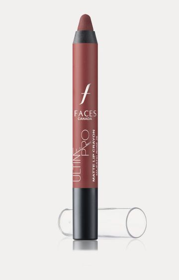 Faces Canada | Ultime Pro Matte Lip Crayon - Majestic Rose with Free Sharpener