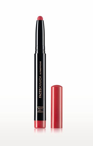 Faces Canada | Ultime Pro HD Intense Matte Lips and Primer - 06 Scarlet