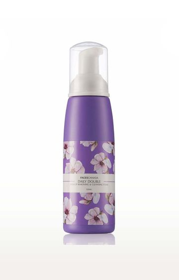 Faces Canada | Daily Double Makeup Removing & Cleansing Foam - 120 GM