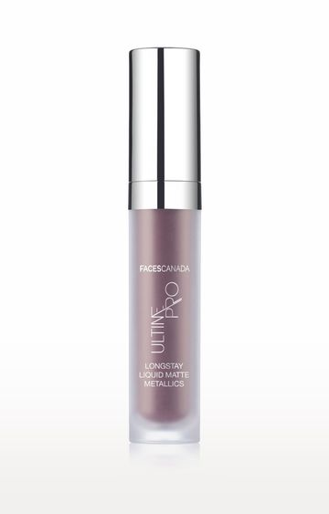 Faces Canada | Ultime Pro Longstay Liquid Matte Metallics Lipstick - Plum 03