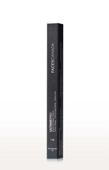 Faces Canada   Dark Brown 02 Ultime Pro Brow Defining Pencil (1.2 GM)