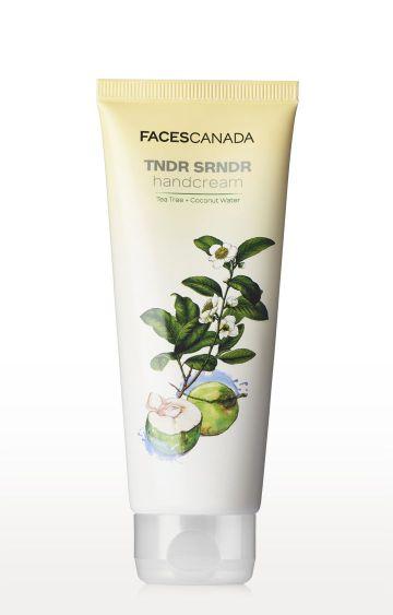Faces Canada | TNDR SRNDR Tea Tree and Coconut Water Hand Cream