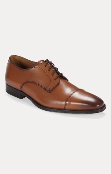 Florsheim | Tan Derby Shoes