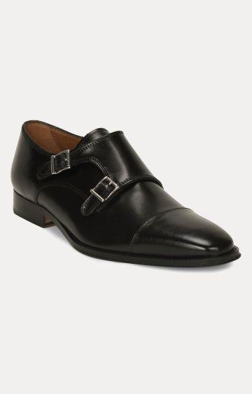 Florsheim | Black Monk-strap Shoes