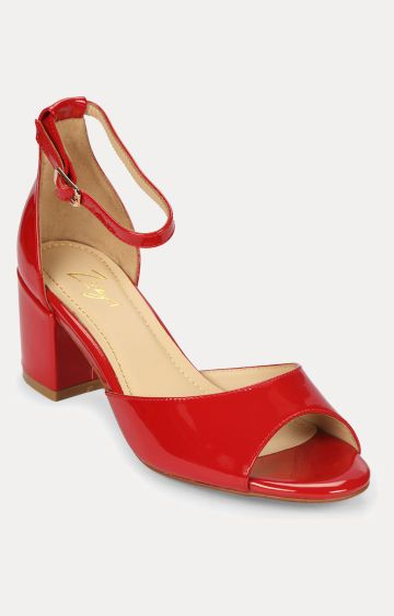 Florsheim | Red Block Heels