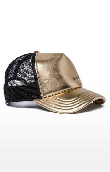REPLAY | Gold Printed Baseball Cap