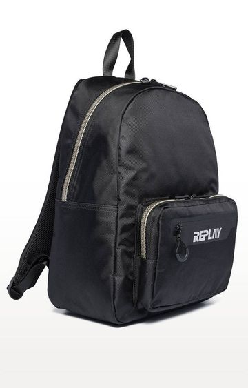 REPLAY | Black Backpack