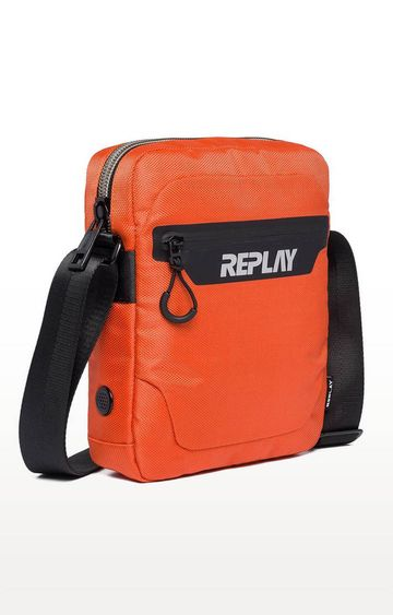 REPLAY | Mandarine Orange Messenger Bag