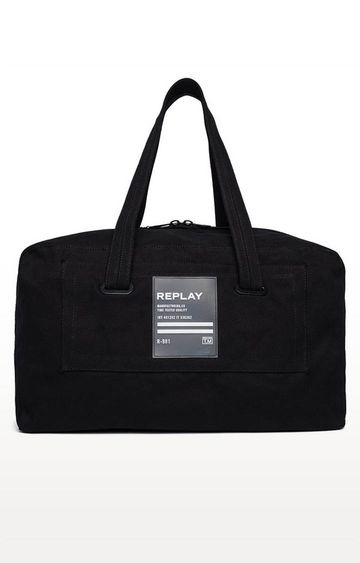 REPLAY | Black Duffle Bag