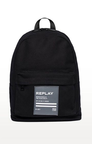 REPLAY | Black Backpack
