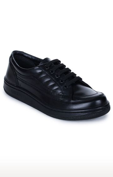 Liberty   Warrior by Liberty Black Derby Shoes