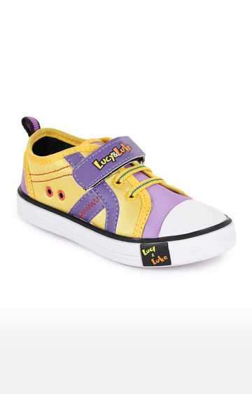 Liberty | Lucy & Luke by Liberty Yellow Casual Slip-ons