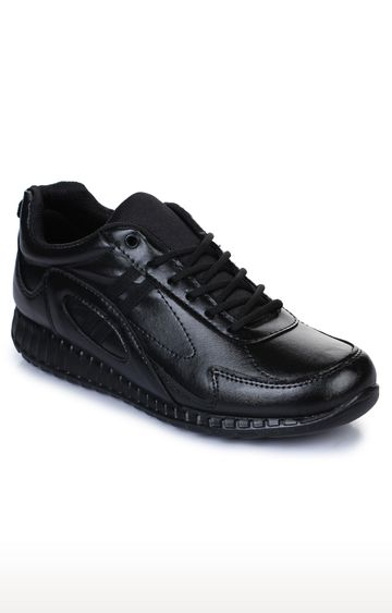 Liberty | Force 10 by Liberty Unisex Black School Shoes