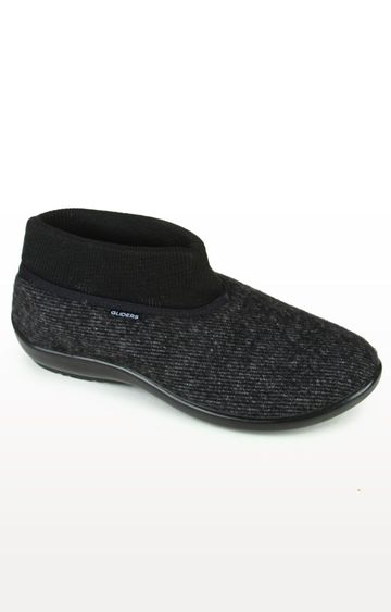 Liberty   Gliders by Liberty Black Casual Slip-ons