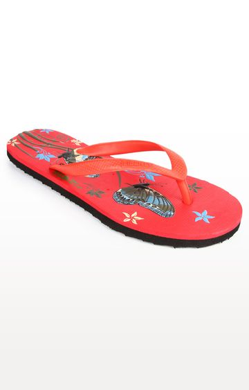 Liberty | Red Flip Flops