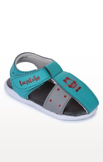 Liberty | Lucy & Luke by Liberty Sea Green Sandals