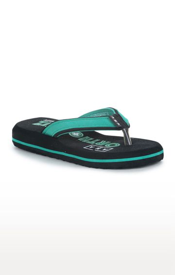 Liberty | A-HA by Liberty Green Flip Flops
