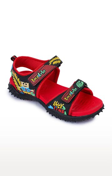 Liberty | Lucy & Luke by Liberty Unisex Red Floaters