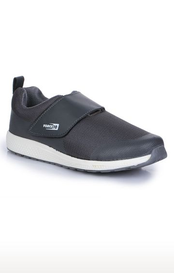 Liberty | Force 10 by Liberty Grey Slip-on Sports Shoes