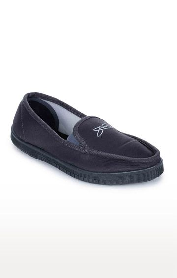 Liberty | Gliders by Liberty Grey Casual Slip-ons