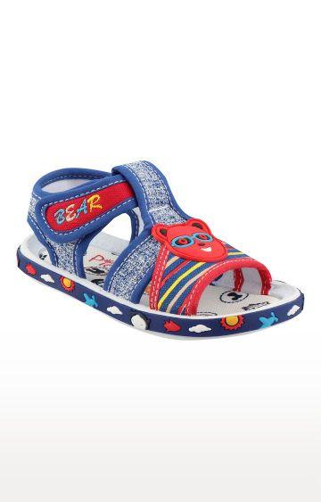 Rex   Royal Blue Slip On Sandals
