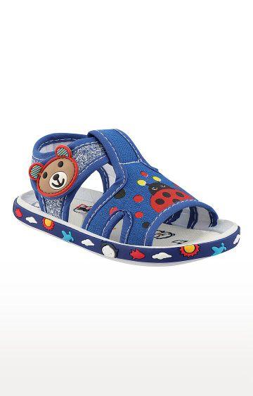 Rex | Royal Blue Slip On Sandals