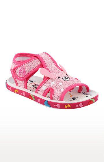 Rex | Pink Slip On Sandals