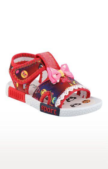 Rex | Red Slip On Sandals