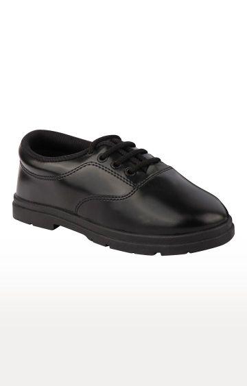 Rex | Black School Shoes