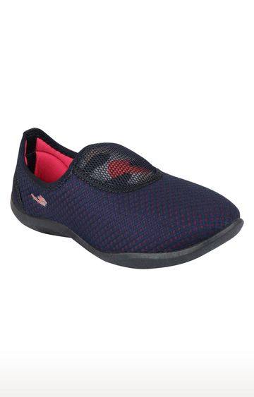 Rex | Blue and Pink Casual Slip-ons