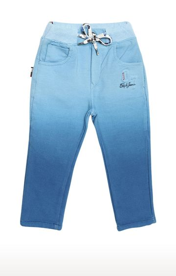 Tadpole | Blue Solid Trousers
