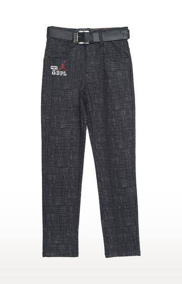 Tadpole | Black Checked Jeans