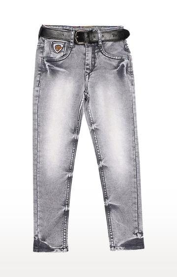 Tadpole | Grey Solid Jeans