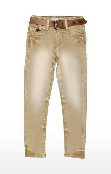 Tadpole | Gold Solid Jeans