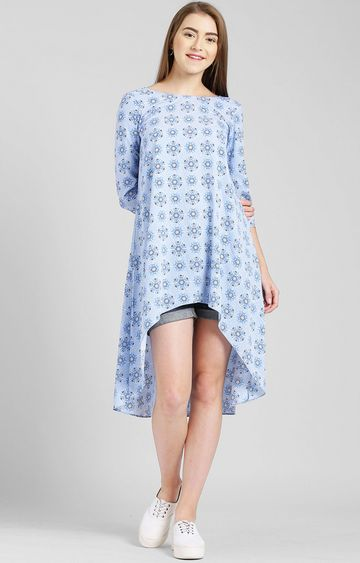 Zink London | Blue Printed Tunic