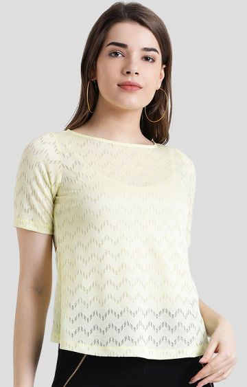 Zink London | Yellow Solid Top