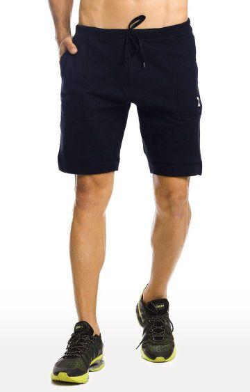 Azani   Navy Solid Shorts