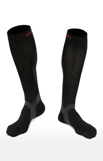 Azani | Black Printed Socks