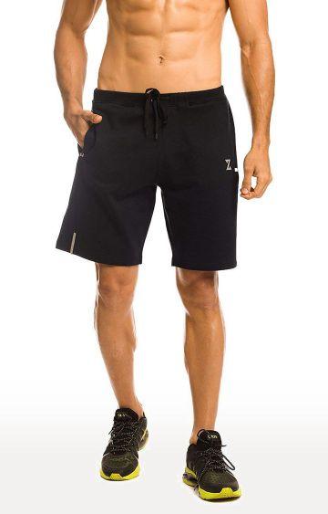 Azani   Black Solid Shorts
