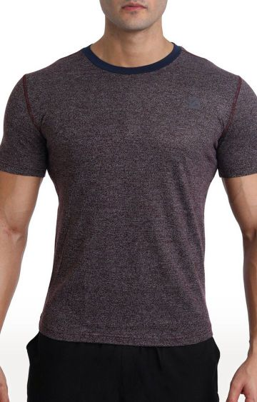 Azani | Coffee Brown Melange T-Shirt