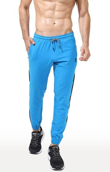 Azani | Blue Solid Trackpants